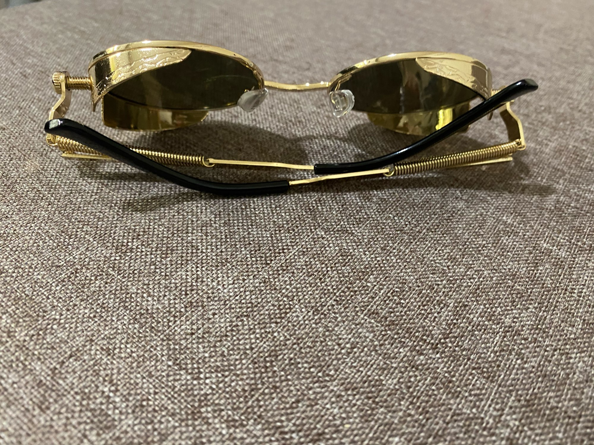 Round Shaped Men's Sunglasses photo review