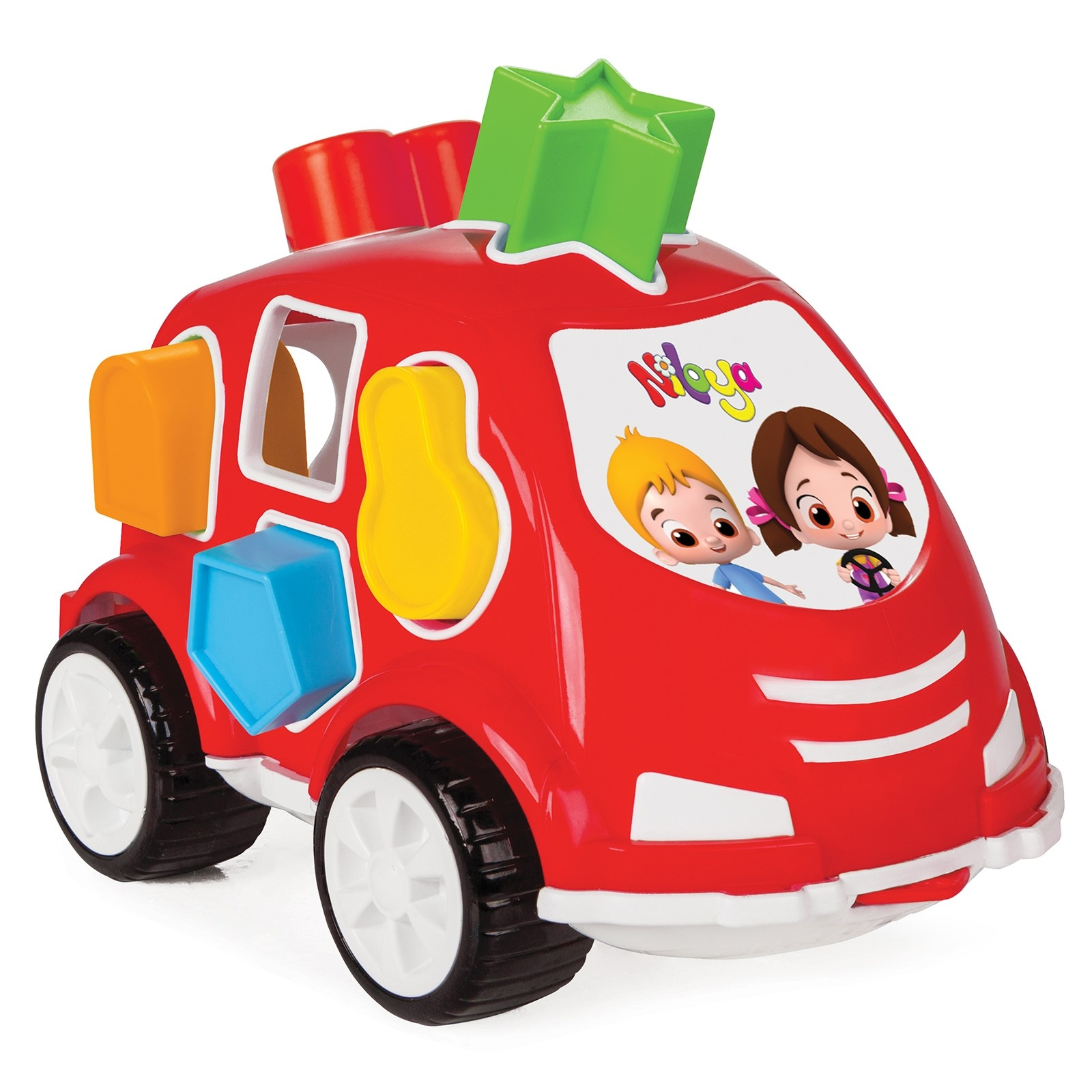 Ebebek Niloya Educational Shape Sorter Car Toy
