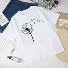 Новинка летняя одежда для женщин завод принт в виде одуванчиков