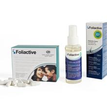 Foliactive Pills + Foliactive Spray: Pills and Spray to stop hair fall