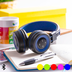 Bluetooth Headphones with Hands-free and Integrated Control Panel 145562