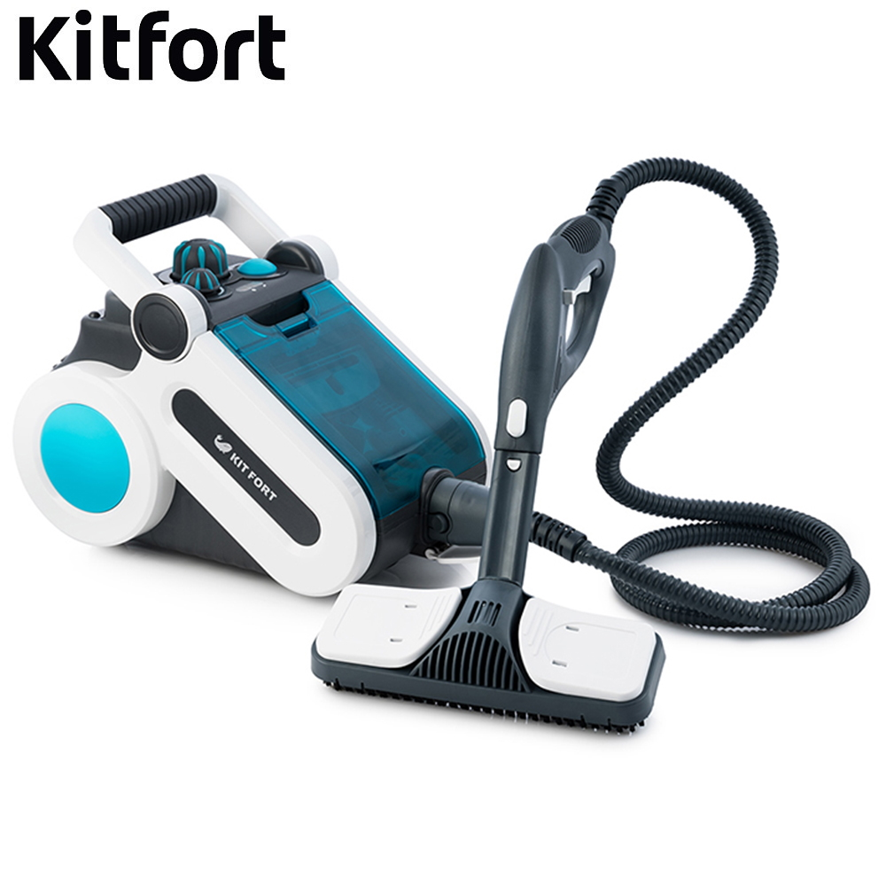 цена на Steam Cleaner Kitfort KT-917 Steam Cleaner Steam Mop Steam high pressure Steam generator for cleaning Electric steam vacuum cleaner