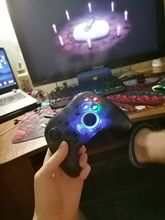 Gamepad just pouuushka, sold out and delivered everything very quickly +-25 days, came all