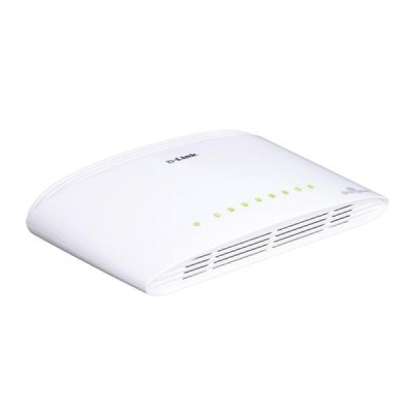 Switch D-Link DGS-1008D 8 P 10 / 100 / 1000 Mbps