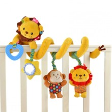 Baby activity toy SozzyToys Detour Aslanım can be worn to bed fun