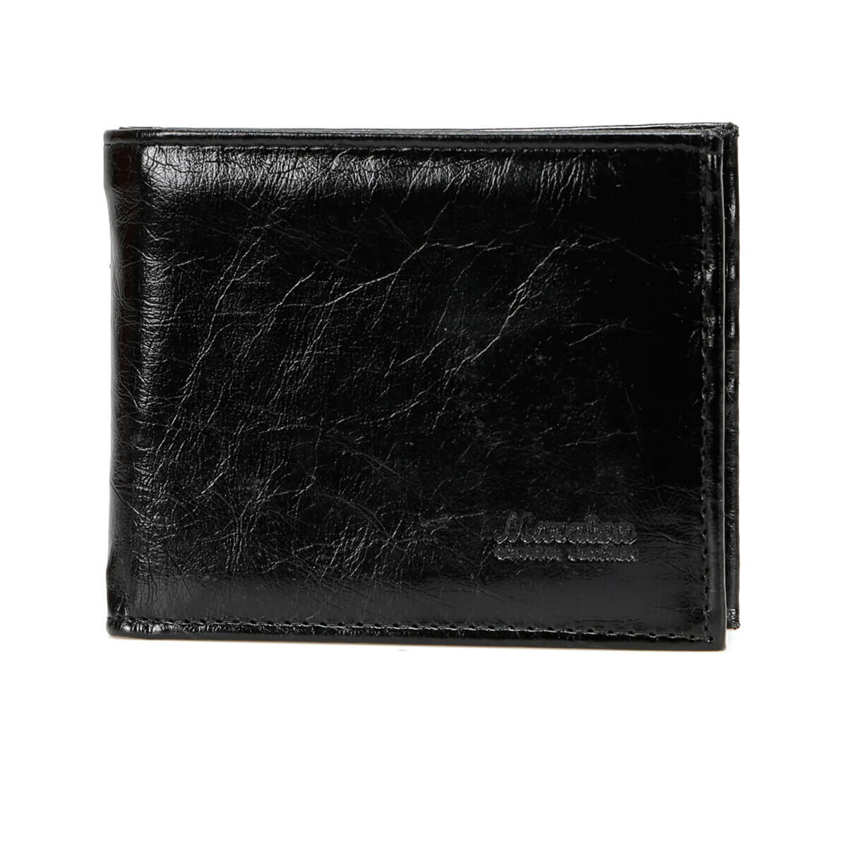 FLO MKNY2204 Black Male Wallet Garamond