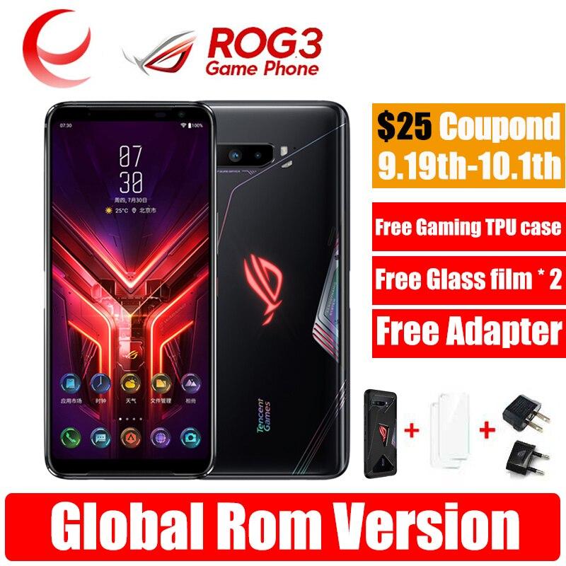 Original New ASUS ROG PHONE 3 Snapdragon 865 / 865 plus ROG 3 NFC 5G Gaming phone 6000mAh Battery Smartphones ROG3 Global ROM|Cellphones| - AliExpress