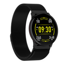 Accalia W9 smart watch IP68 waterproof heart rate full screen touch blood pressure weather forecast fitness man sport