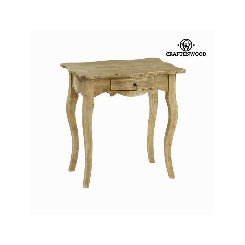 Side Table Rubber Wood (66x45x66 Cm)-The Collection Poetic By Craftenwood
