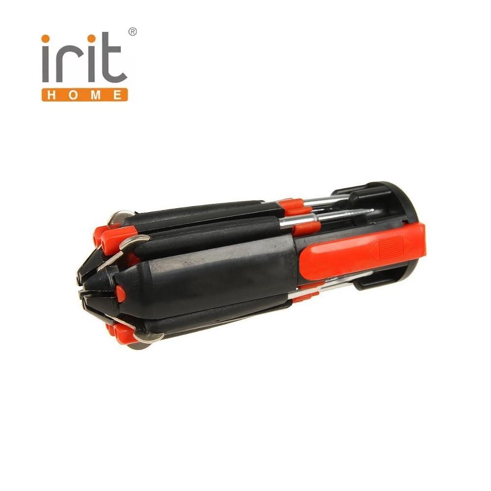 Multi-Function screwdriver flashlight Irit IR-103H tooling creative wooden multi function desktop speaker phone holder