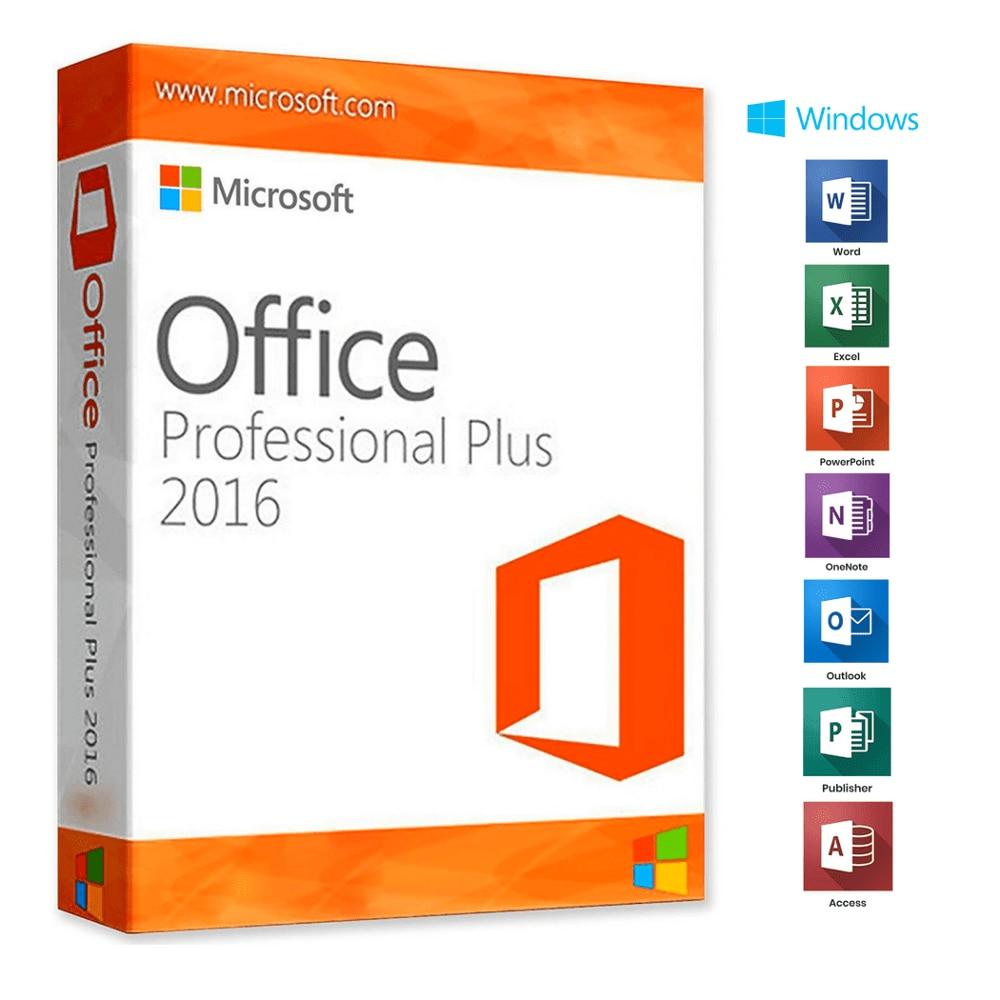 Microsoft Office 2016 365 Pro 5 PC/MAC Lifetime -New Account-Complete 2016/2019