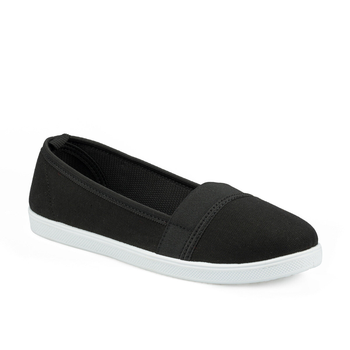 FLO 315622.Z Black Women Slip On Shoes Polaris