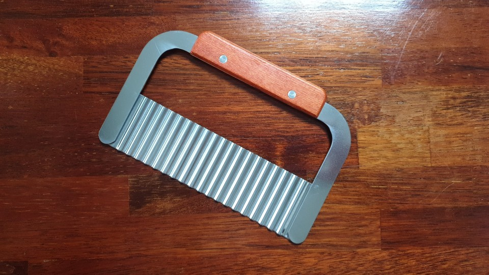 Salad Chopping Wavy Crinkle Slicer photo review