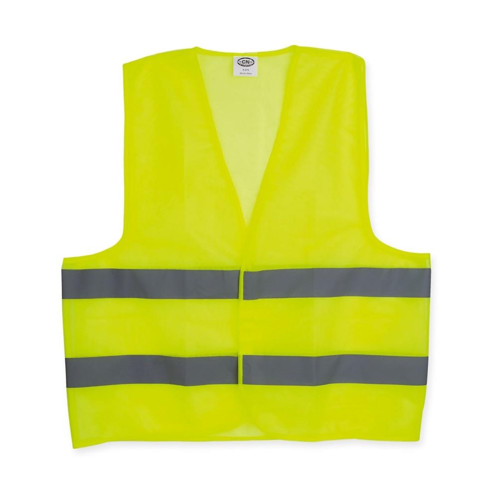 Waistcoat Reflective Car Yellow Lighting Signage Homologated Road
