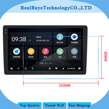 153*85MM Tempered glass For Kia Sportage QL 2016 2017 2018 7 inch Car Styling GPS Navigation Screen image