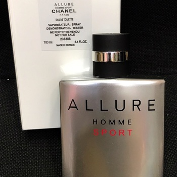 Allure Homme Sport Edt 100ml Erkek Tester Parfüm