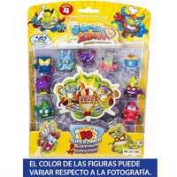 Série SuperZings 4-Cartão Da Bolha 10 Figuras colecionáveis