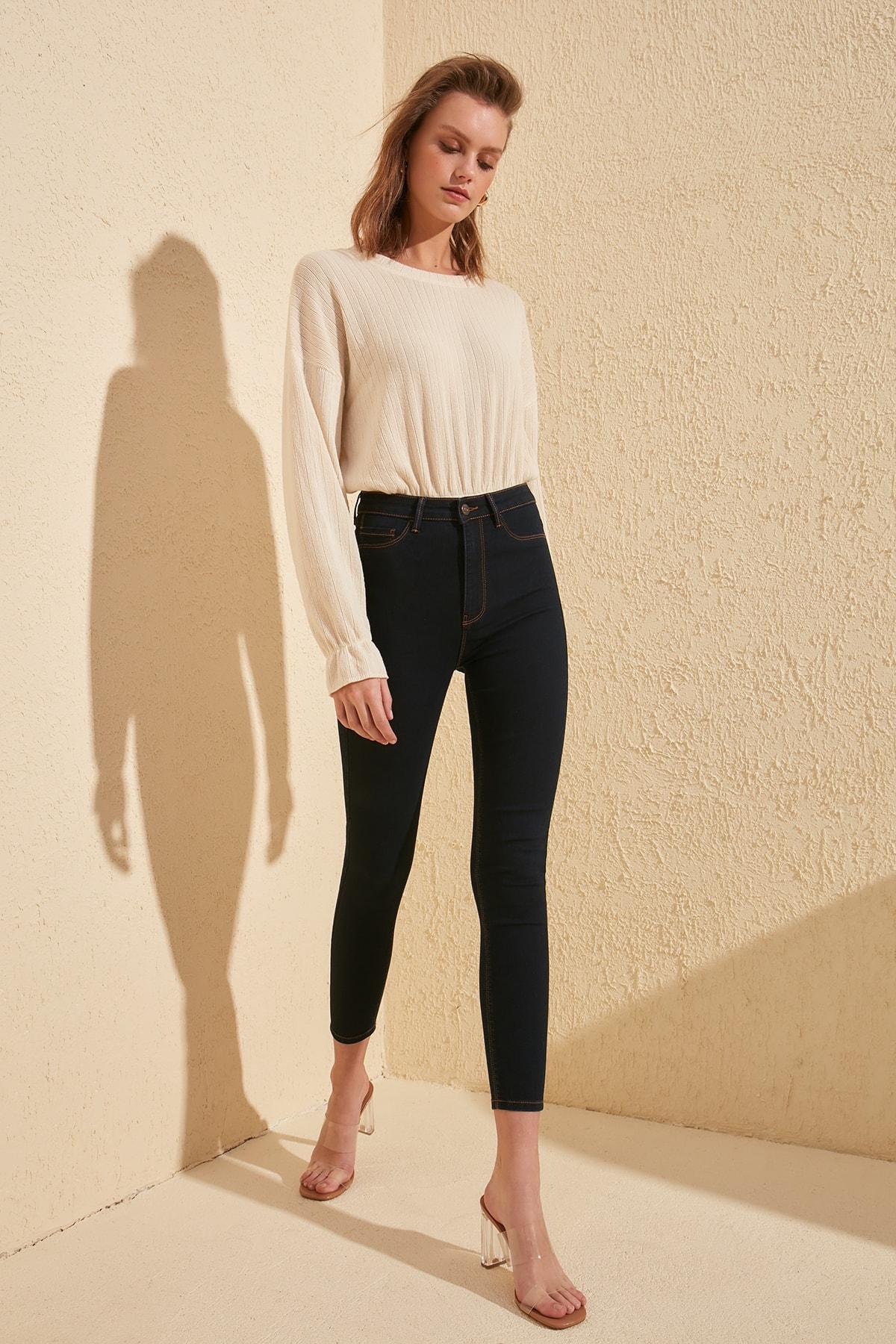 Trendyol High Waist Jegging Jeans TWOSS20JE0005