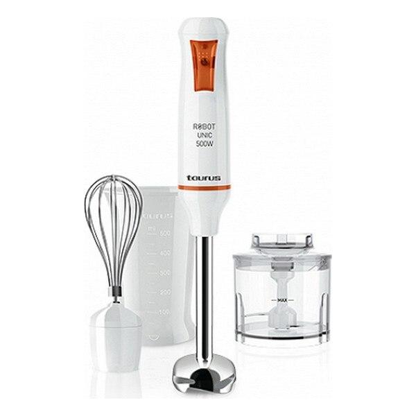 Stick Blender Taurus Robot Unic 500 Plus Inox 500W White|Food Mixers| |  - title=