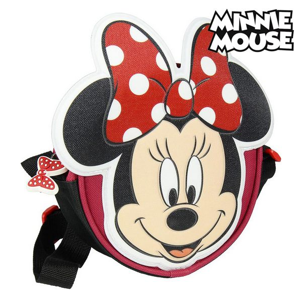Shoulder Bag 3D Minnie Mouse 72882 Red