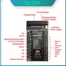 최신 전문 배터리 충전 USB 케이블 활성화 빠른 충전 배터리 플레이트 보드 아이폰 X 8 7 플러스 삼성 안드로이드