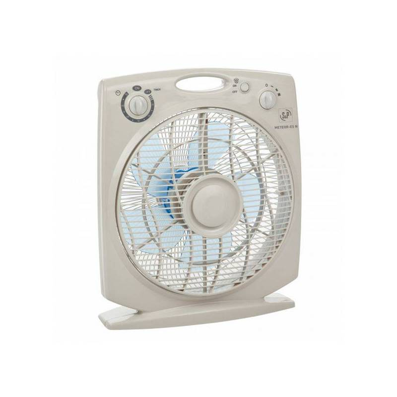 Floor Fan S & P 69711 Gray