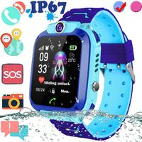 Q12 Smart Watch LBS Kid SmartWatches Baby Watch Waterproof Voice Chat 2G SIM Card Clock Call Location Tracker Anti Lost Monitor|Smart Watches| |  -