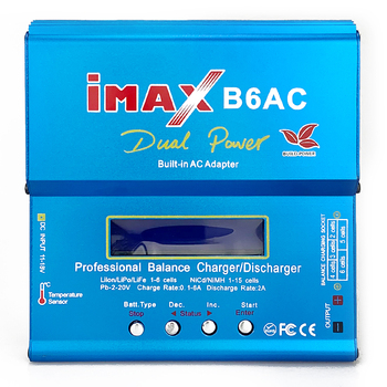 FLYPOWER iMAX B6AC Lipo Charger 12V 6A 80W for Lipo NiMh Li-ion Ni-Cd Battery Balance Charger Discharger