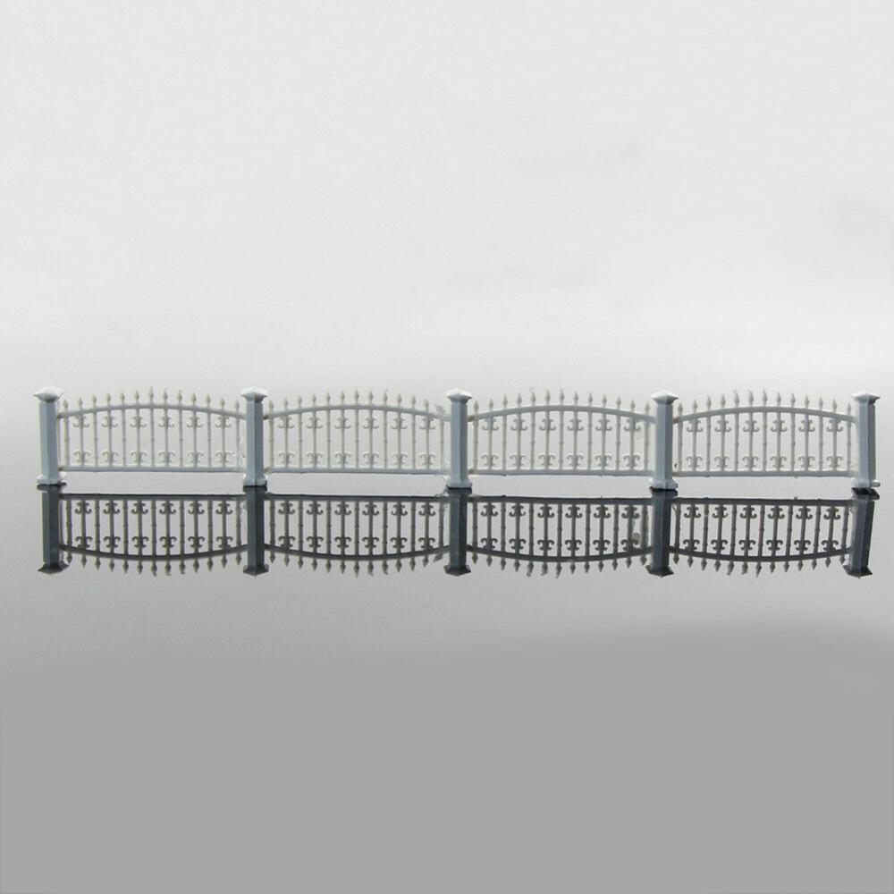 1M Length 1/200 N Scale ABS Plastic Model Villa Outdoor Garden Fence Toys For Diorama Architecture Scene Making Material