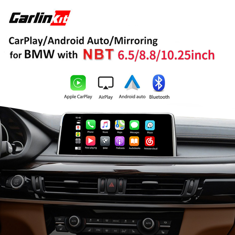 Carlinkit Decoder 2.0 CarPlay/Android For BMW NBT Sytem Series 3 F30 F31 F34 Series 4 F32 F33 F36 Multimedia Wired Wireless(China)