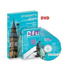 EFU anglais ensemble d'apprentissage-débutant de statique (10 DVD) collectif Atlas Marketing formation ensembles séquence (turc)