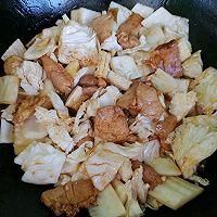 #太太乐鲜鸡汁芝麻香油#大锅菜的做法图解3
