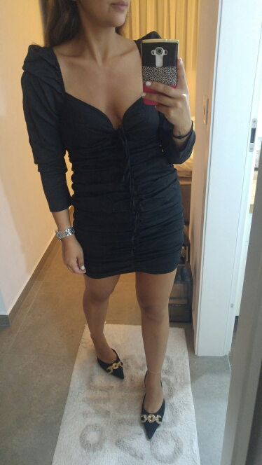 Sexy Long Sleeve Bodycon Lace Up Dress Women Vintage Royal Square Neck Mini Dress Party Club Fold Elastic Dress photo review
