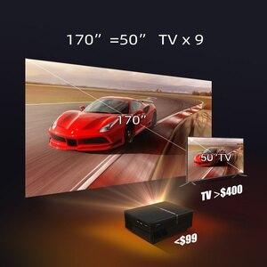 Image 4 - BYINTEK K8 Mini LED แบบพกพา1080P 150นิ้วโฮมเธียเตอร์โปรเจคเตอร์ดิจิตอลสำหรับ3D 4K Cinema (อุปกรณ์เสริม Android 10กล่องทีวี)