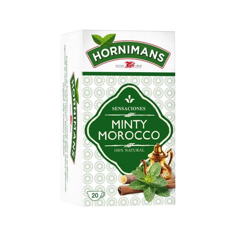 Infusion Mint Morocco, 20 Bags Hornimans
