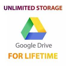 Gooogle Drive – stockage illimité avec votre Gmail personnel, compte à vie dans le monde entier et livraison rapide