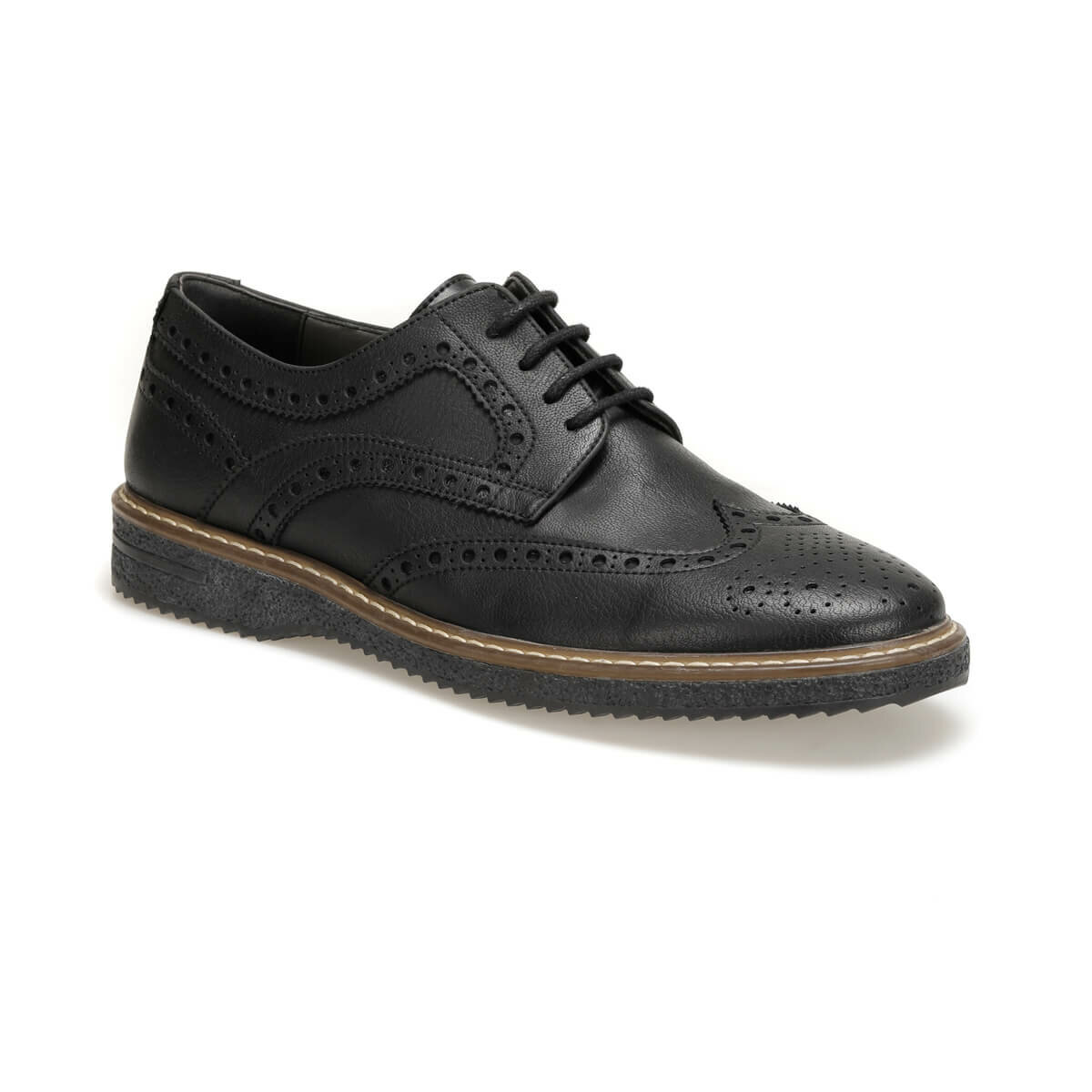 FLO 21750 Black Men 'S Classic Shoes JJ-Stiller