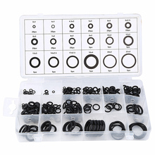 225 pcs Rubber O Ring Washer Seals Watertightness Assortment Different Size O-Ring Kit Set Ring Gasket Sealing With Plactic Box 270pcs rubber o ring washer seals kit metric watertightness assortment green box