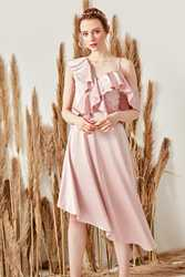 Trendyol платье с маховиком TPRSS19FZ0232