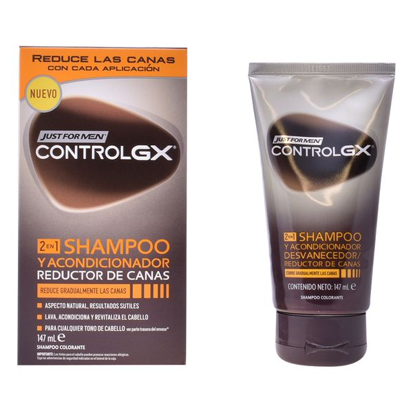 Shampoo Dye Controlgx Just For Men (147 Ml)