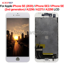 For Apple iPhone SE 2020 SE2 LCD Display Touch Screen Digitizer Assembly For Apple iPhone A2296 A2275 A2298 lcd Replacement Part