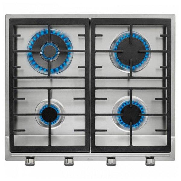 Gas Hob Teka EX60.1 4G 60 Cm 60 Cm Stainless Steel Black (4 Stoves)