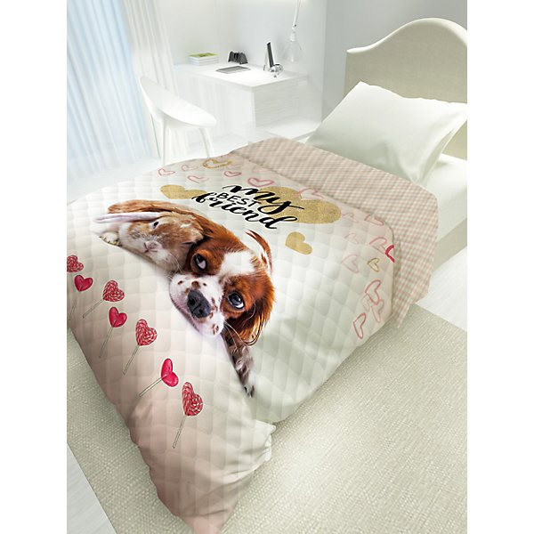 купить Bedspread with down 4 YOU Cute Friends MTpromo по цене 2076 рублей