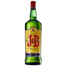 Whiskey J & B bottle 70cl