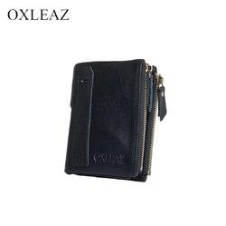 Cartera de cuero genuino OXLEAZ OX2035