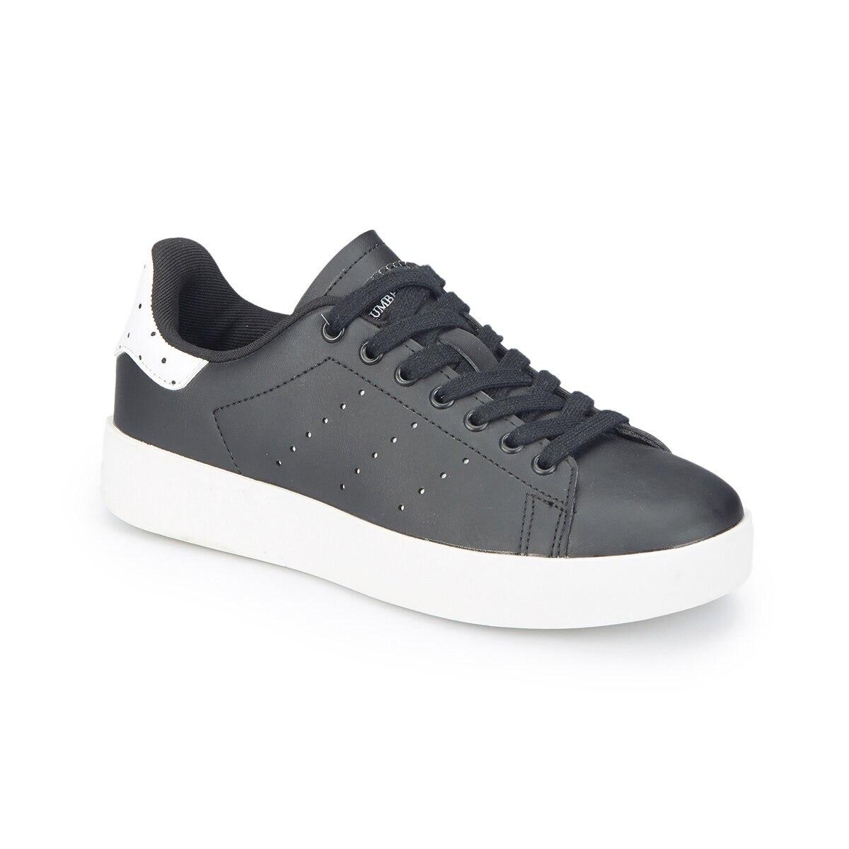 FLO KIKO Black Women 'S Sneaker Shoes LUMBERJACK