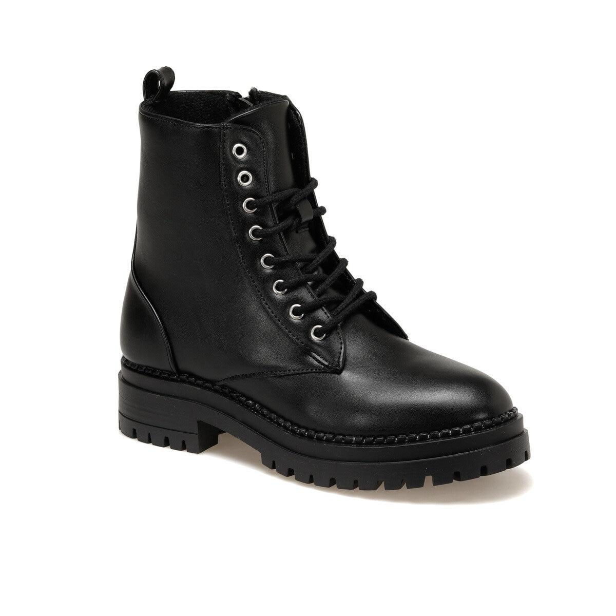 FLO CW18089-19W Black Women Boots Art Bella