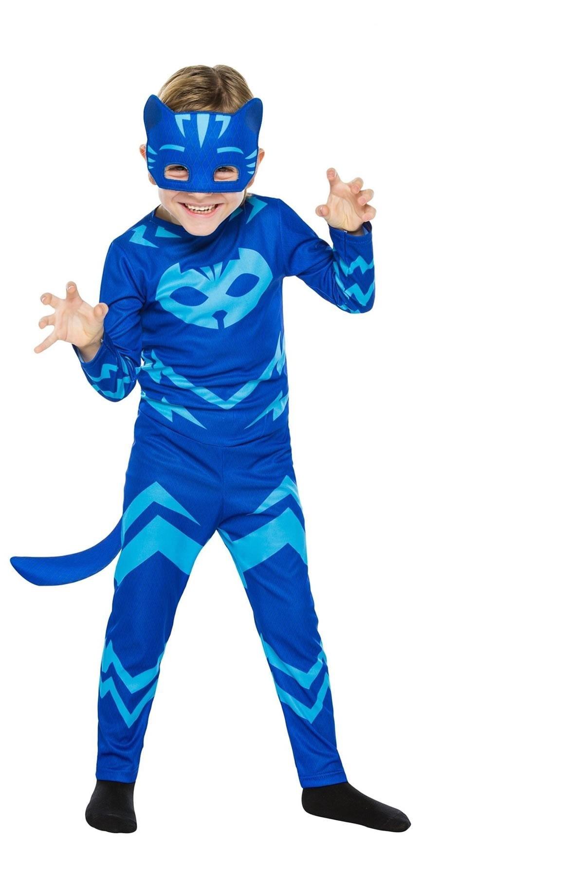 PJ Masks-vestuario de ropa de Cosplay para niños, juguetes para Navidad, Halloween, Pj, máscaras, Gekko, Owlette, regalos para fiesta de cumpleaños