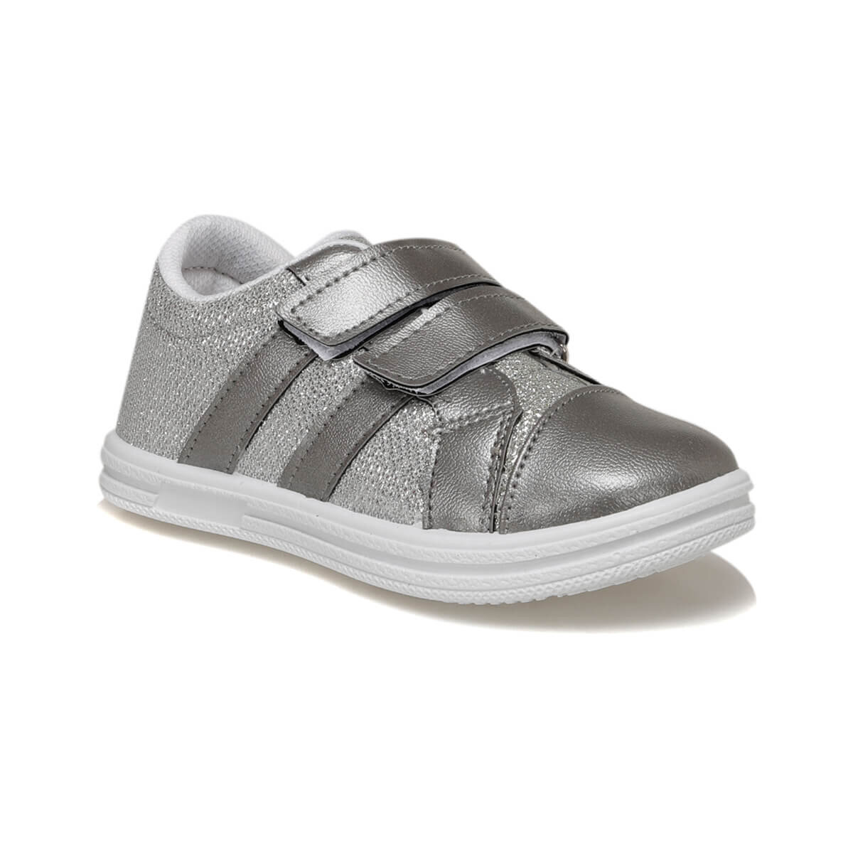 FLO 92.511749.P Silver Female Child Sneaker Shoes Polaris