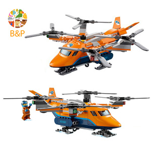 Image 3 - CITY 310pcs Arctic Air Transport Compatible  60193 Model Building Block Toy For Children Birthday Gifts